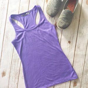 NWT Althleta purple racerback workout tank